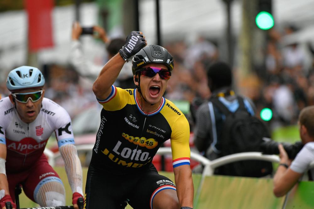 Tour de France 2017 - 23/07/2017 - Etape 21 - Montgeron / Paris Champs-Elysées (103 km) - France - Dylan GROENEWEGEN (TEAM LOTTO NL - JUMBO) - Vainqueur de l'étape