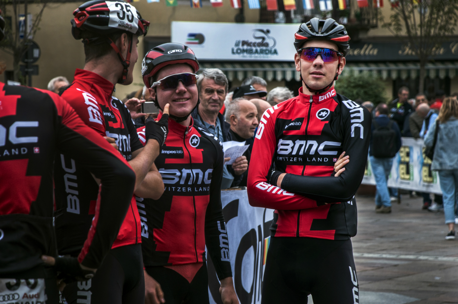 Steff Cras at il Lombardia for BMC Development
