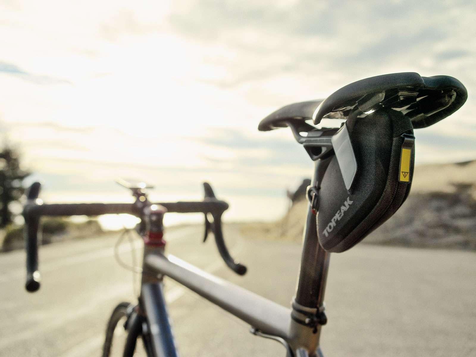 topeak saddle bag for winter road bike