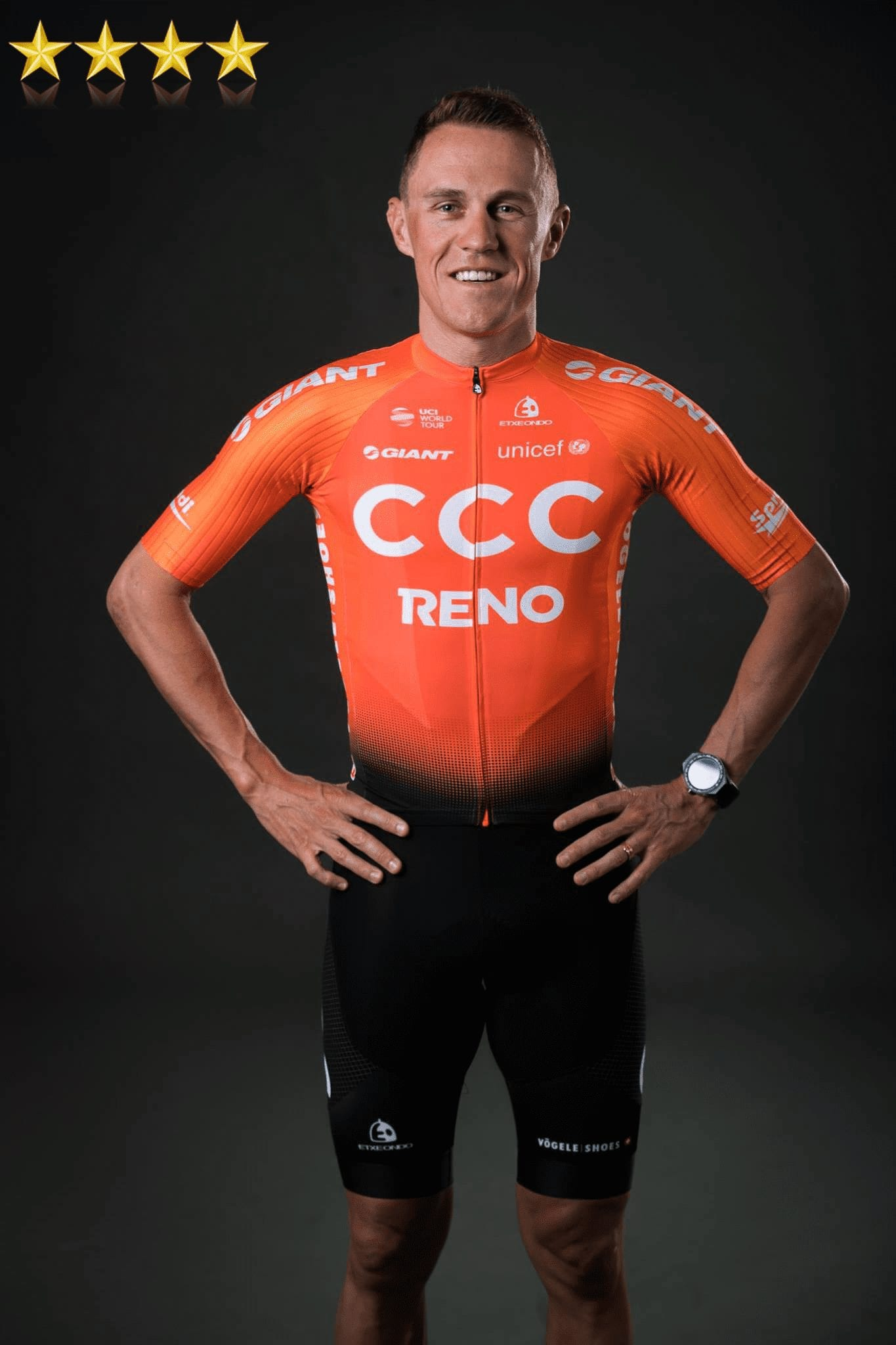 the new CCC team kit for 2019