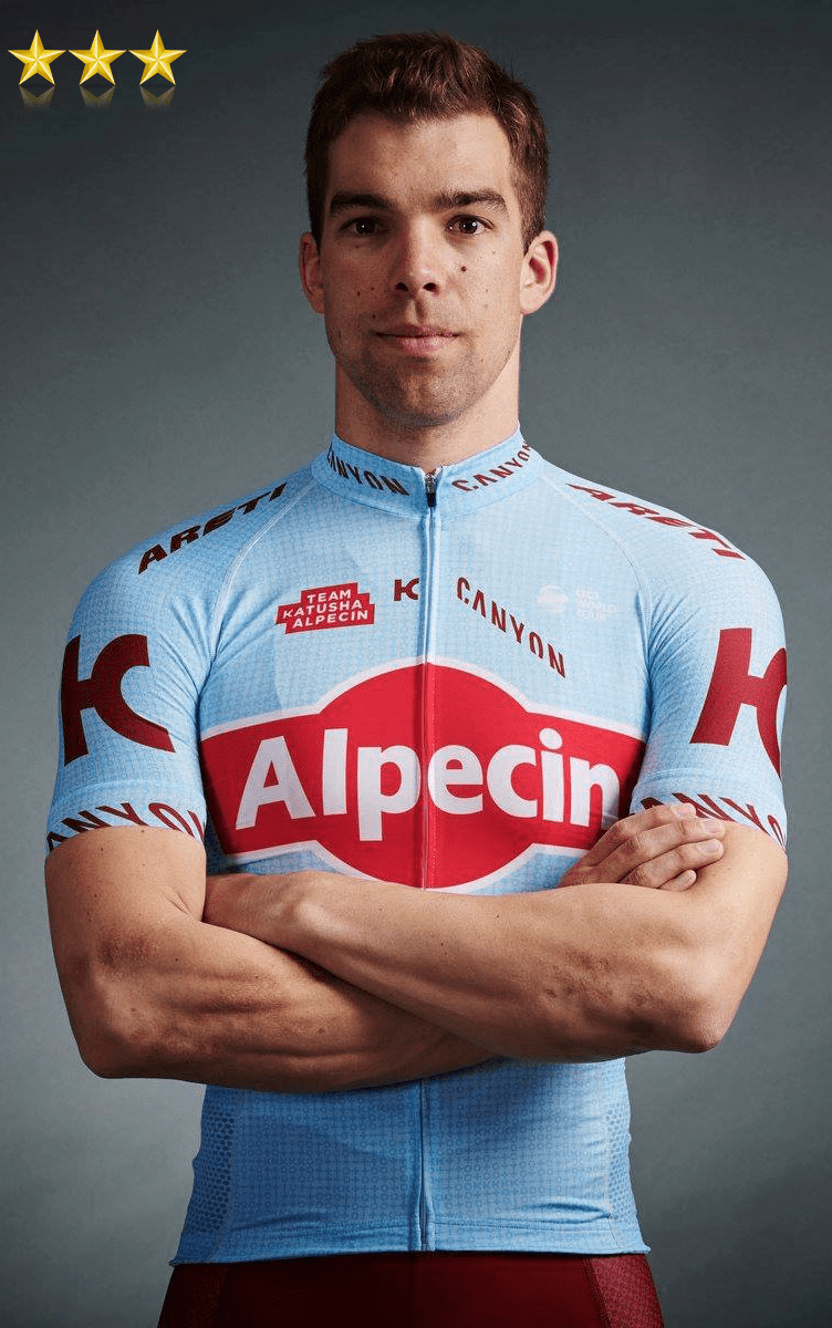 The new katusha alpecin cycling team kit