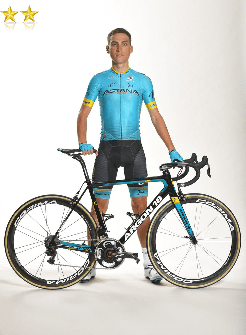 the pro cycling kit of team astana