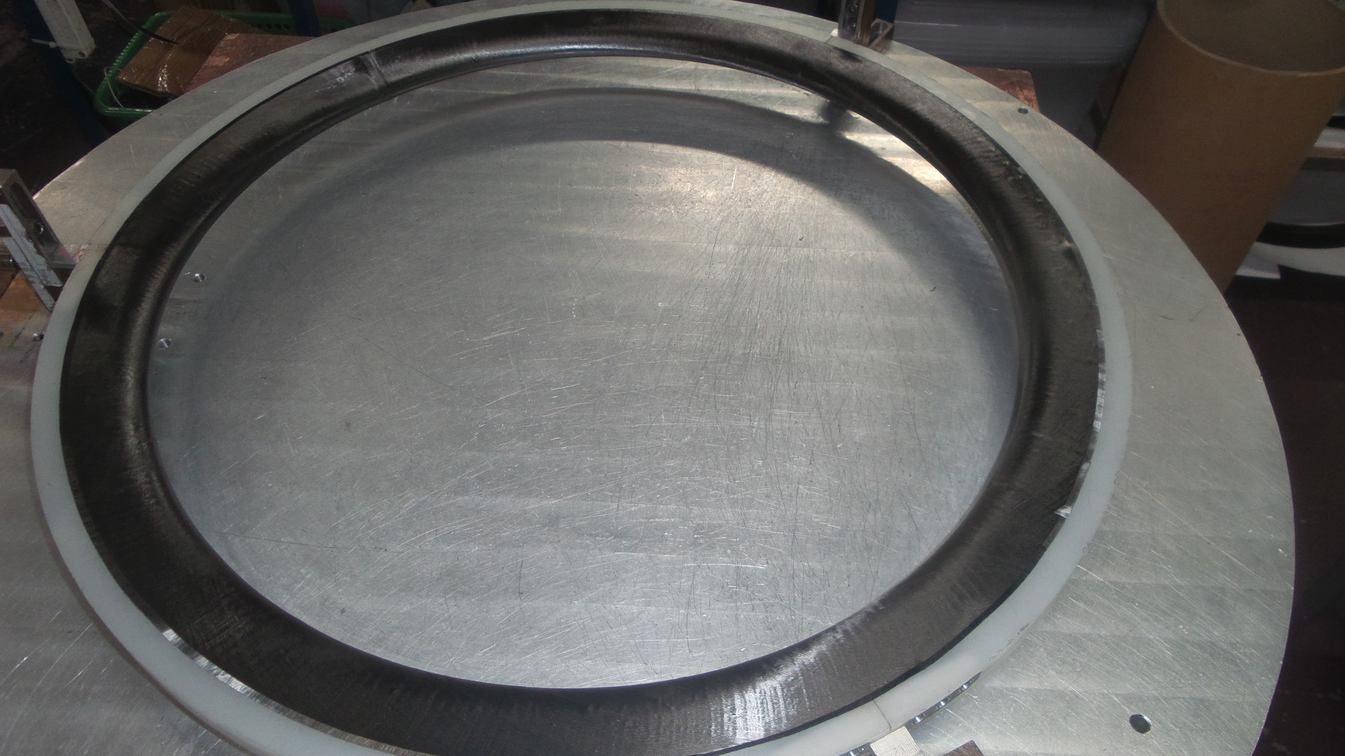 The machine used by venn cycling to produce CTL wheels