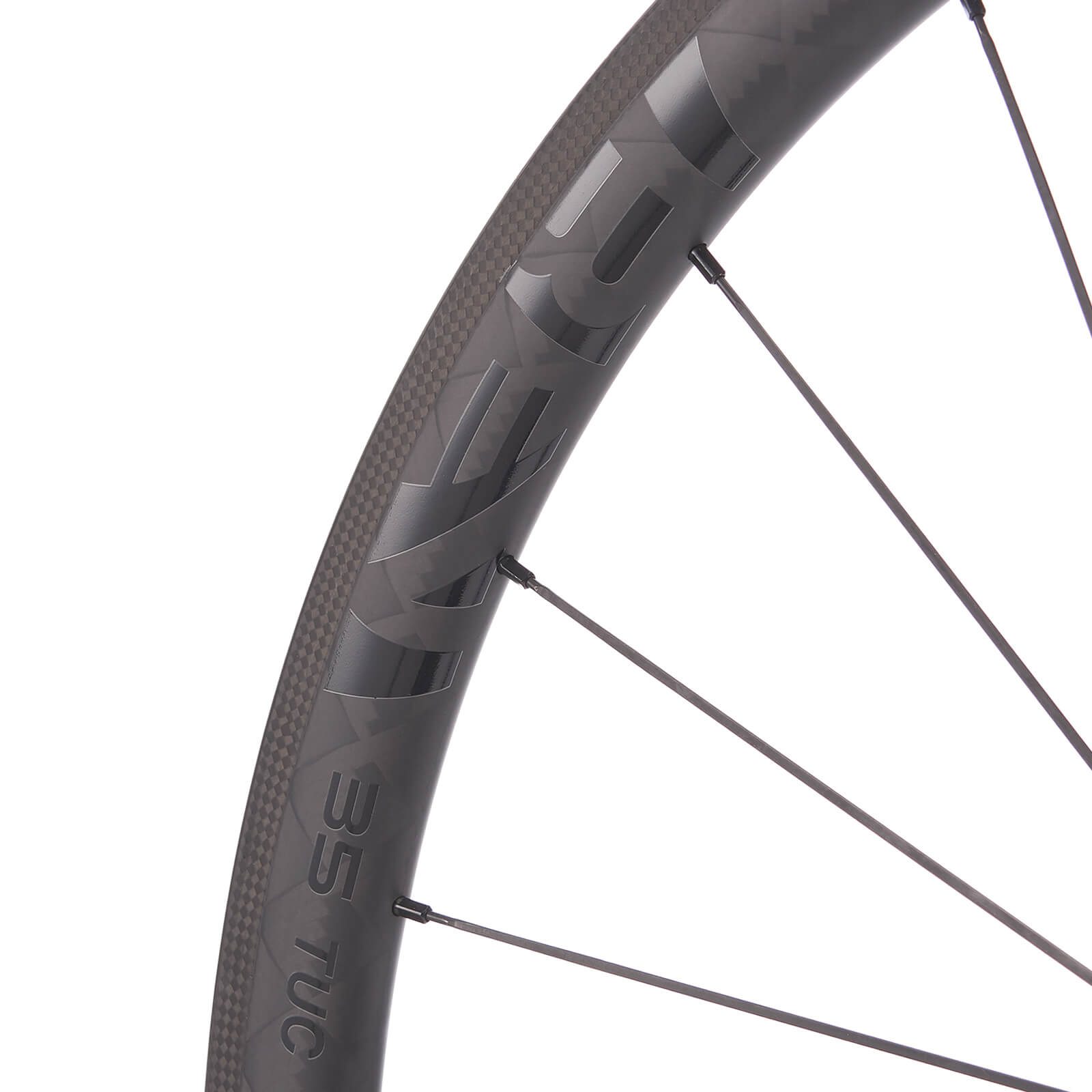 A Venn Rev 35 Tubular wheel, manufactured using filament winding.