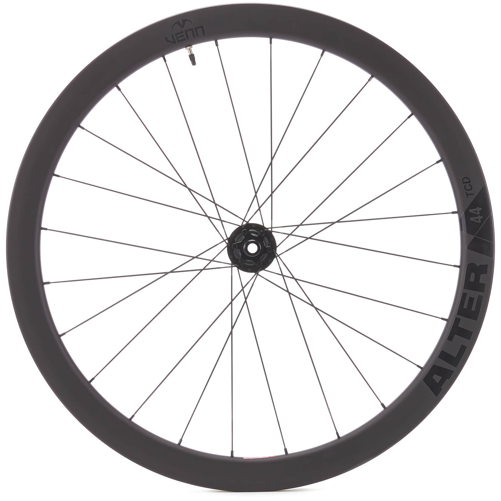 the venn cycling alter 44 disc rear wheel.