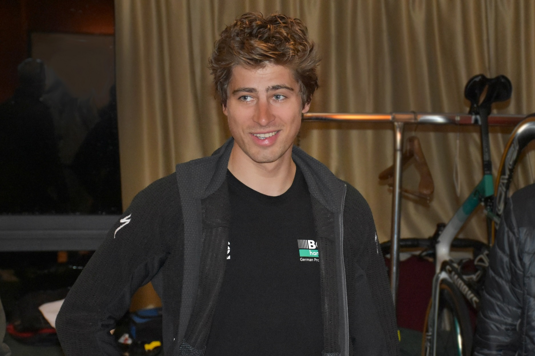 Peter sagan the evening before the strade bianche 2018