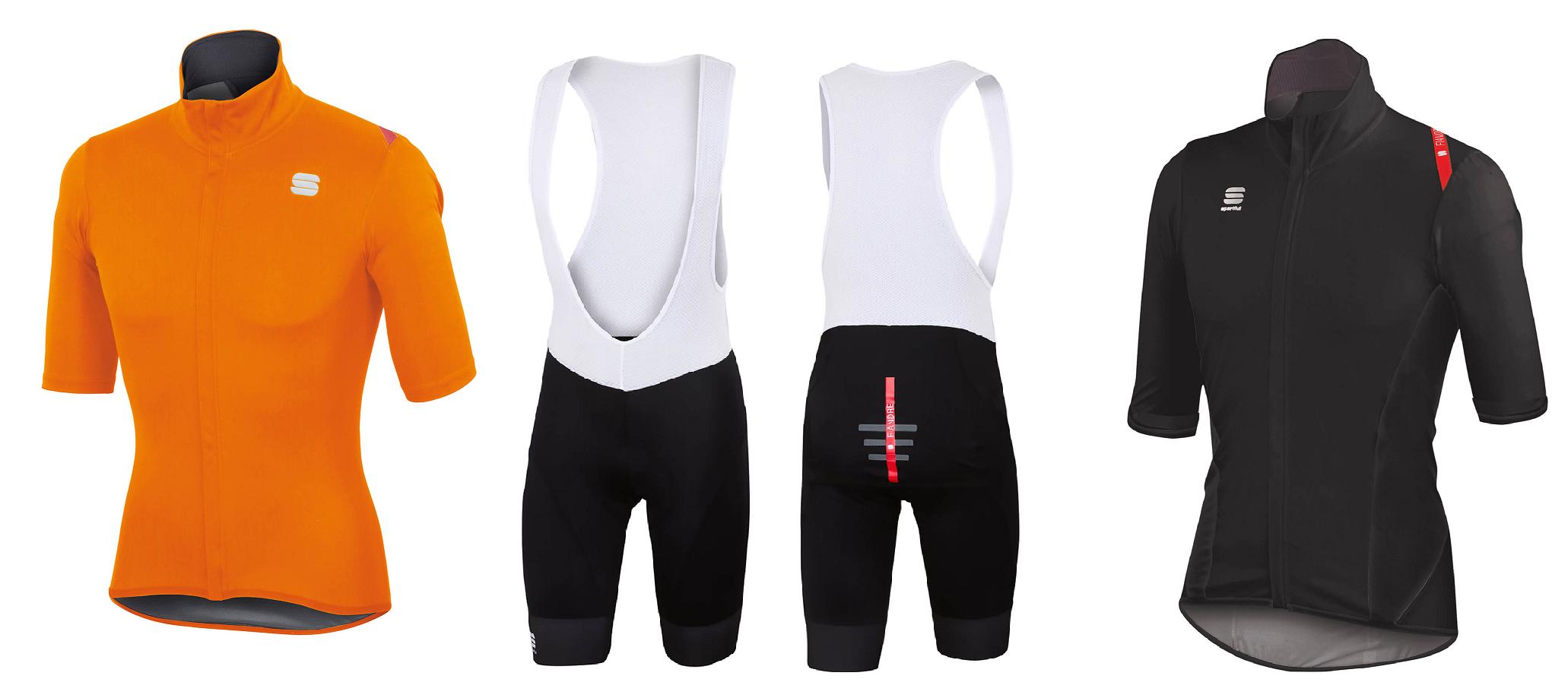 the sportful fiandre norain jersey and shorts bundle
