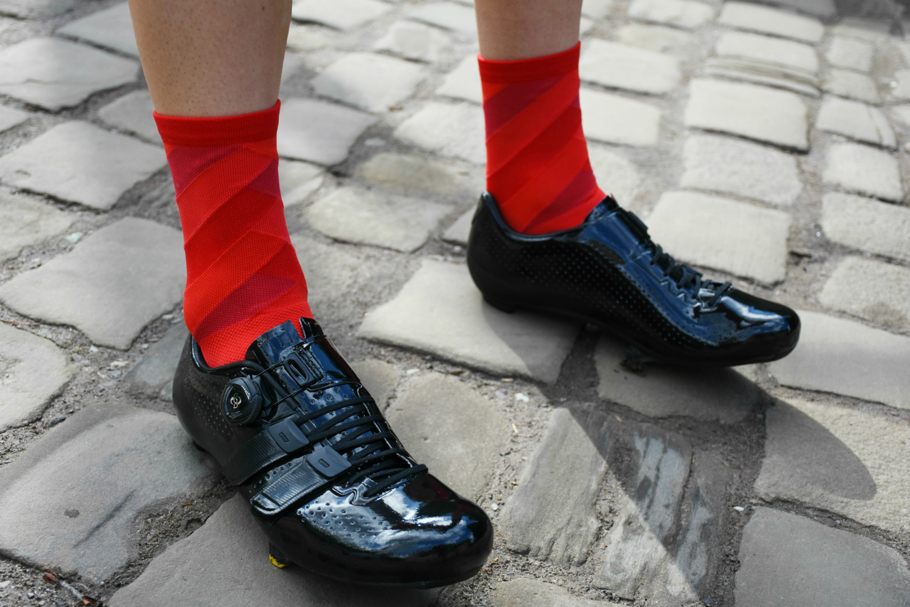 castelli free socks in red
