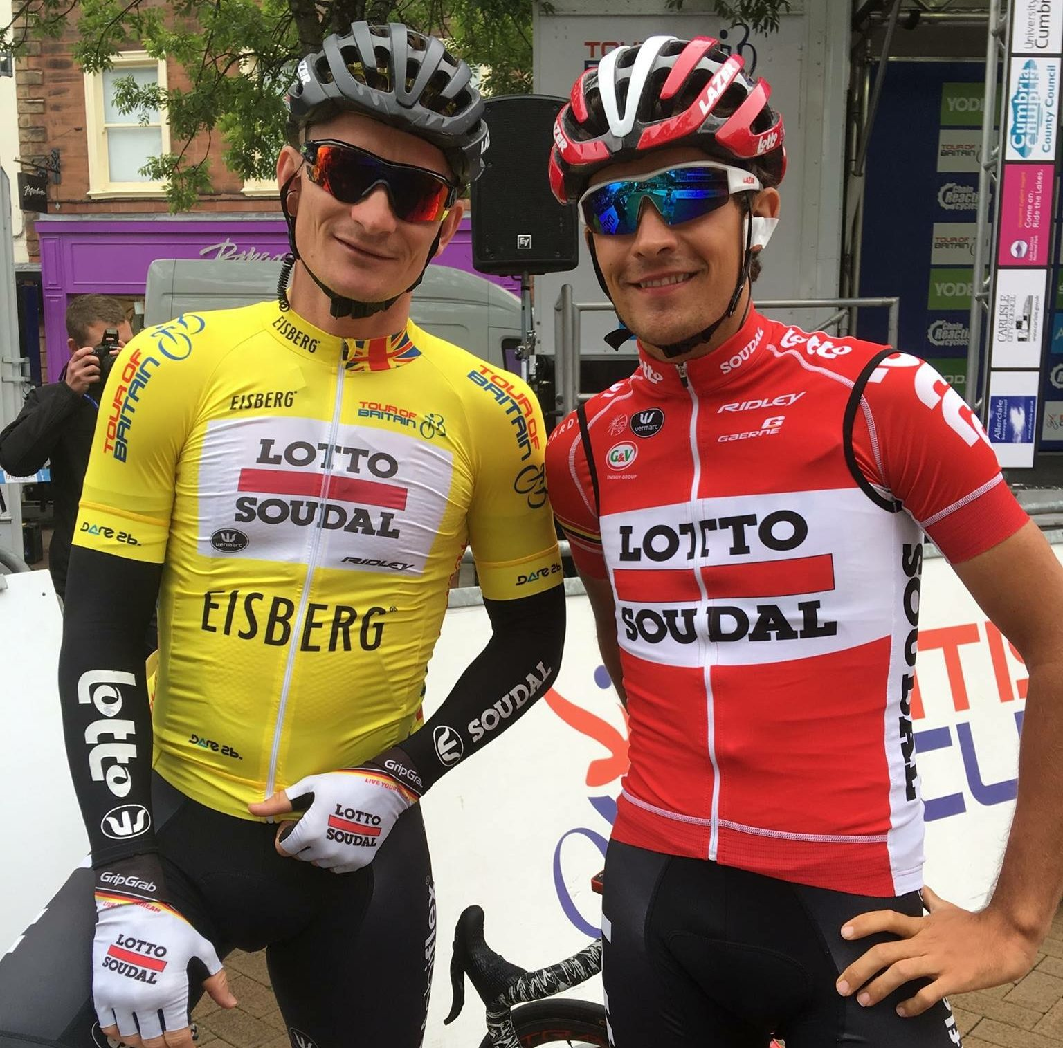 James Shaw with Andre Griepel
