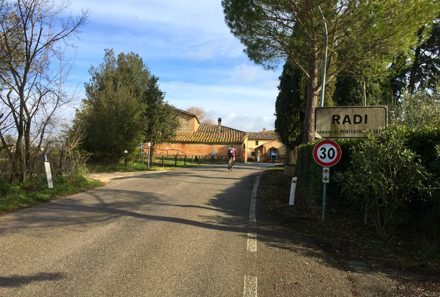 The village of Radi in Tuscany