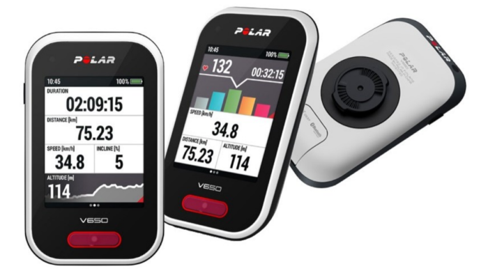 Guide to the Updated Polar V650 GPS Bike Computer