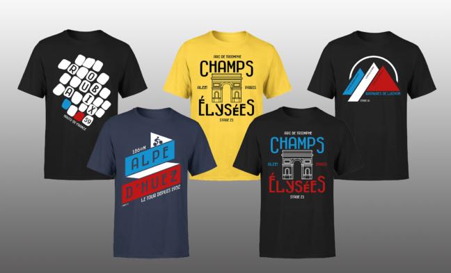 Tour de France T-shirts