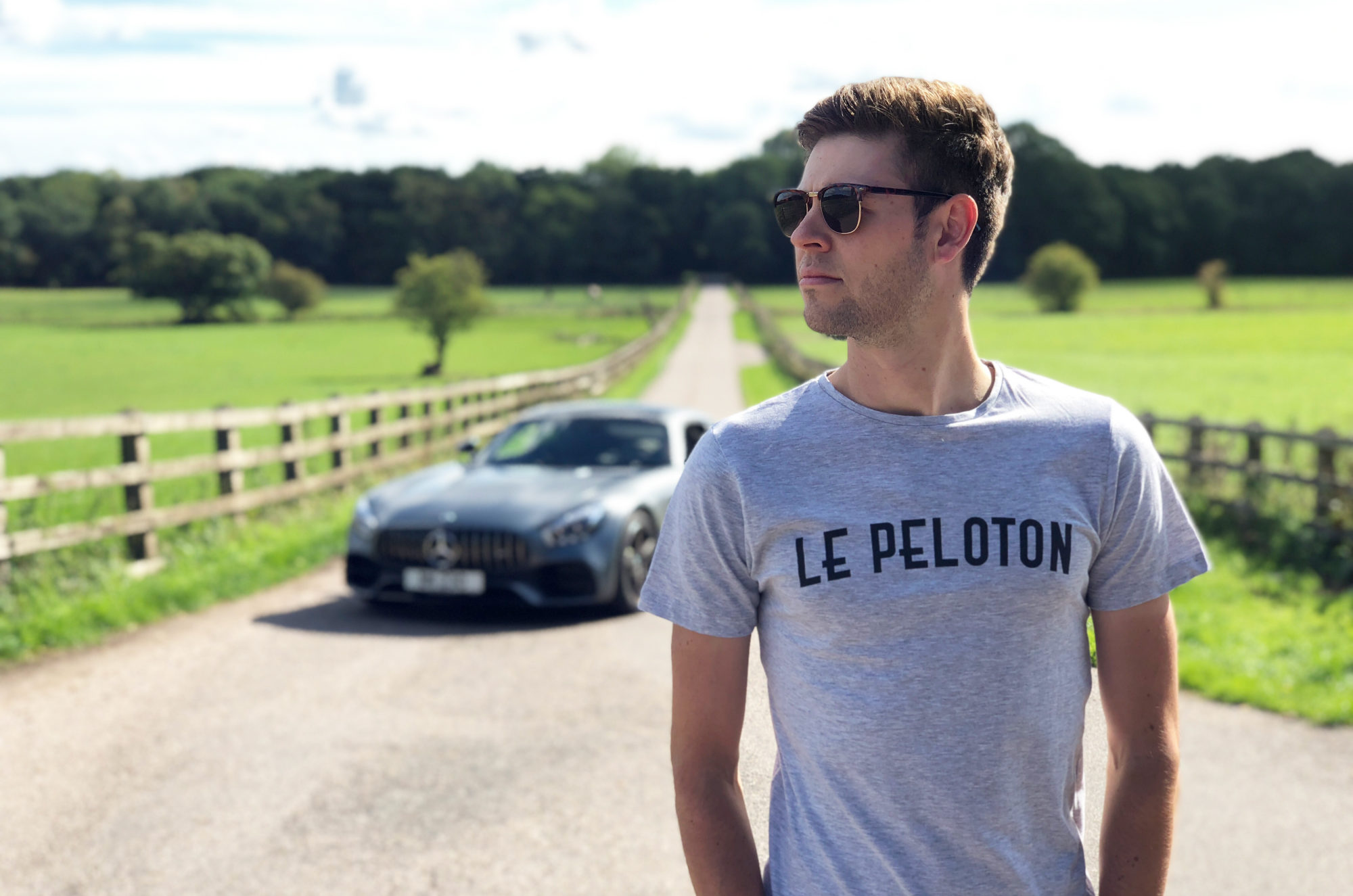 Le peloton t-shirt from The Broom Wagon
