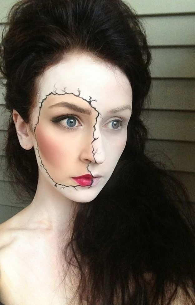 #HQSCARE Halloween Make up Ideas