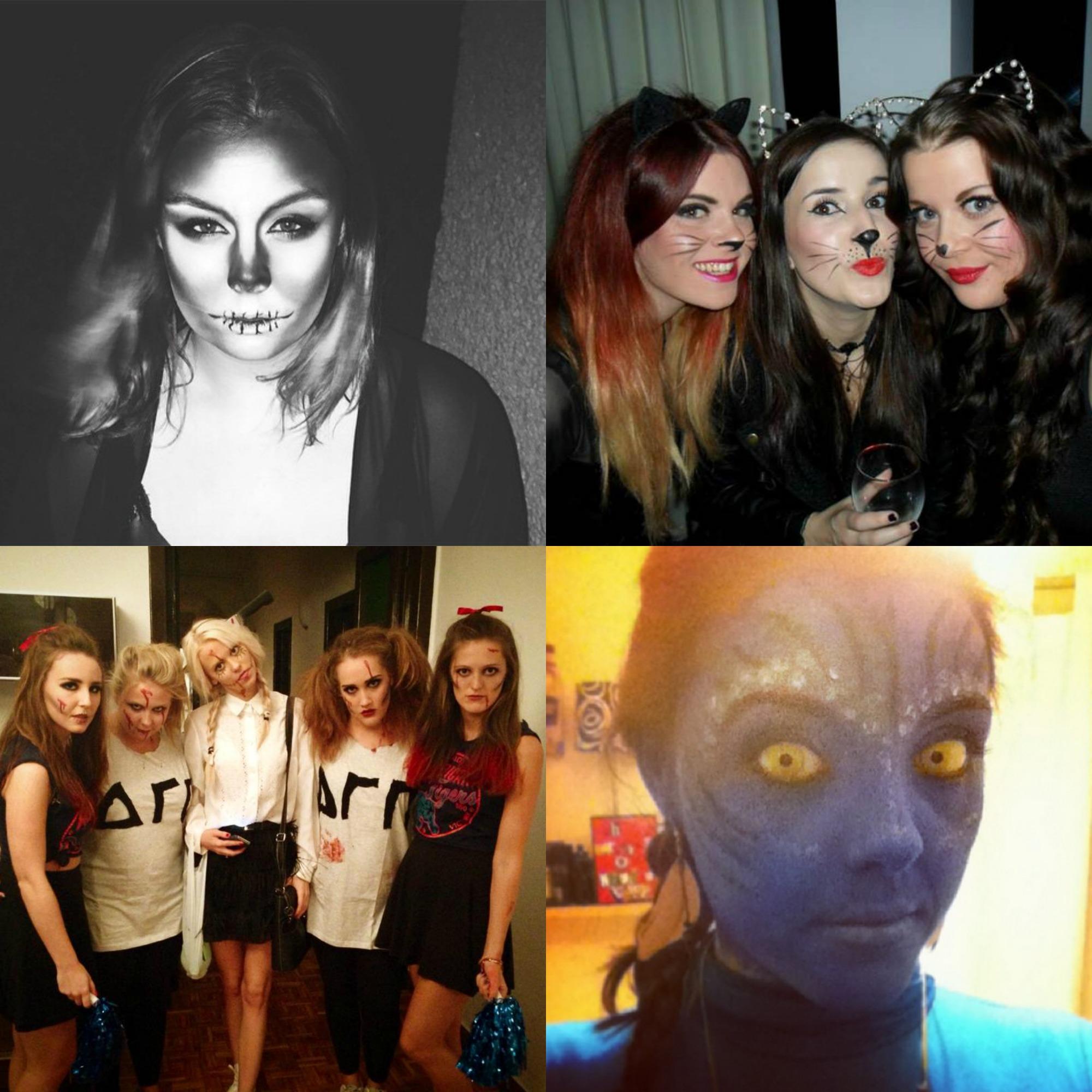 HQhair Halloween HQSCARE Halloween Make up Ideas
