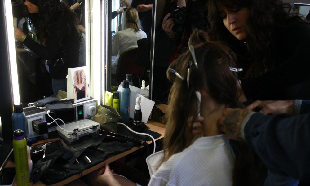 HQhair KMS California London Fashion Week