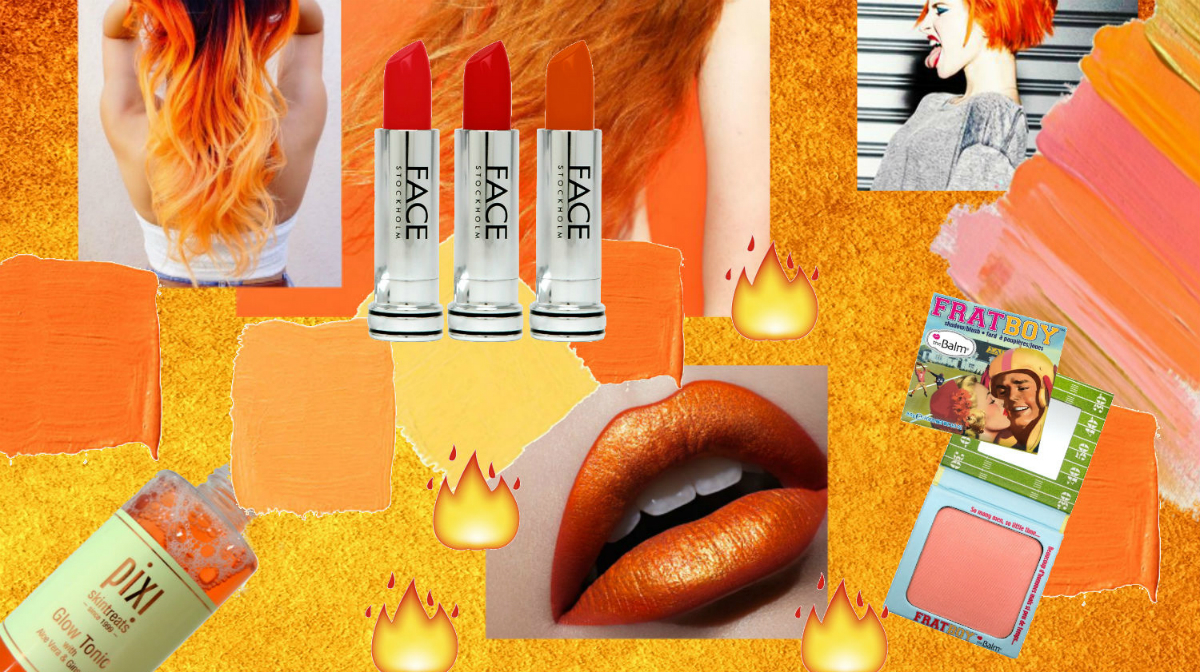 Orange Beauty Products: Colour Of The Week