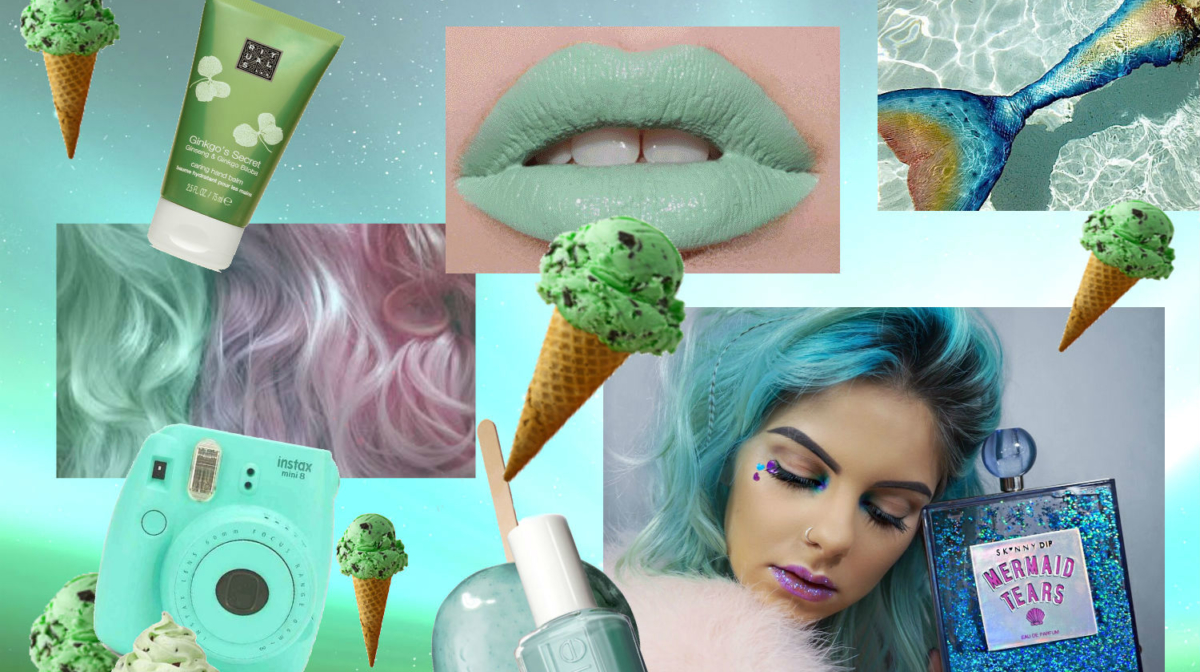 Mint Beauty Products: Colour Of The Week