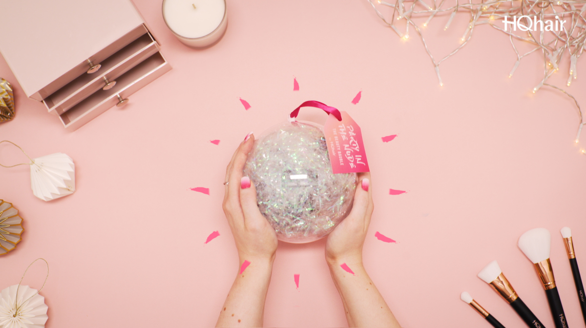 Introducing: The HQhair Beauty Bauble | #HQPartyInTheNude