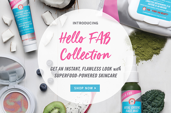 HQhair First Aid Beauty Hello FAB Collection