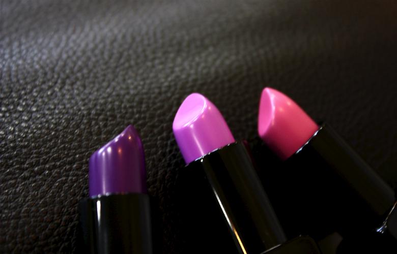 Illamasqua Anti Matter Lipstick HQhair Pink Purple Lipstick Shades