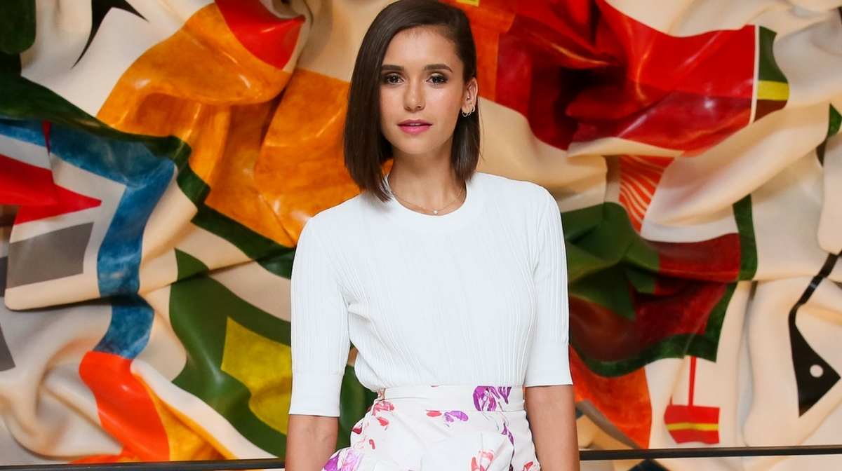 The haircare product Nina Dobrev swears by