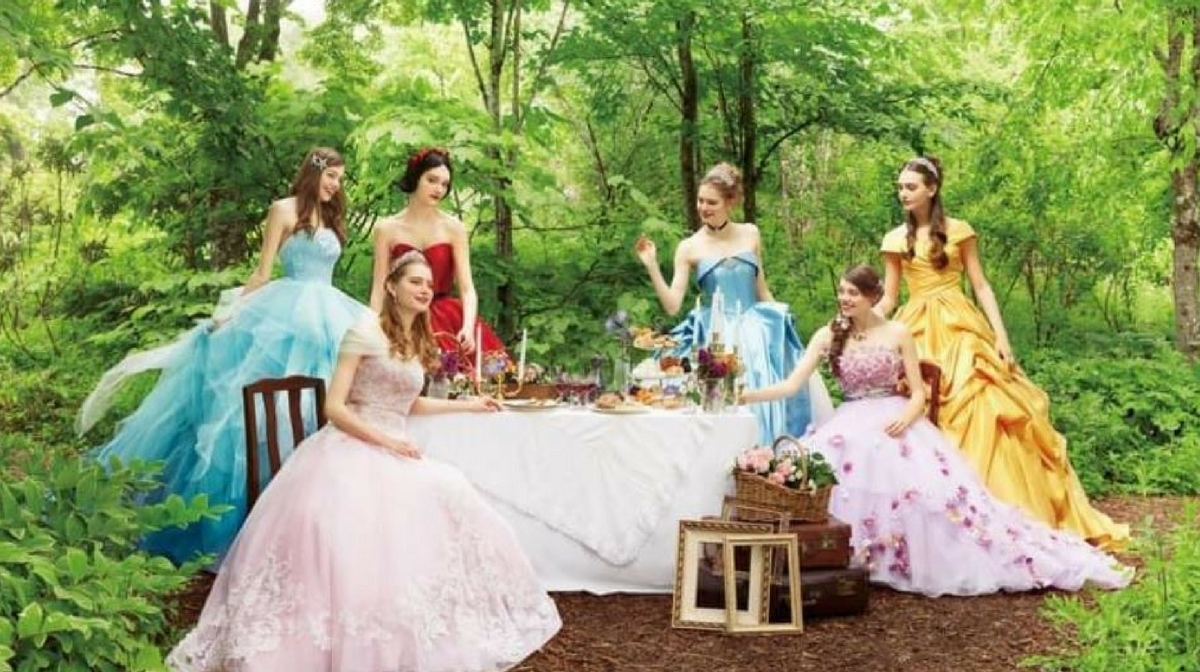 Disney Launches Princess Wedding Dresses For The First Time Ever