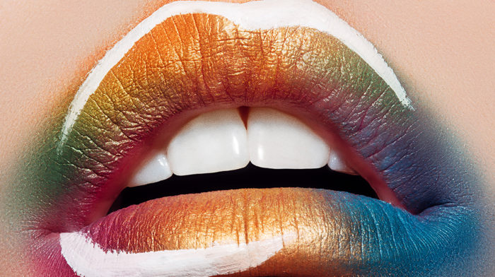 Why Lipstick Art Is the Beauty Trend of Our Dreams