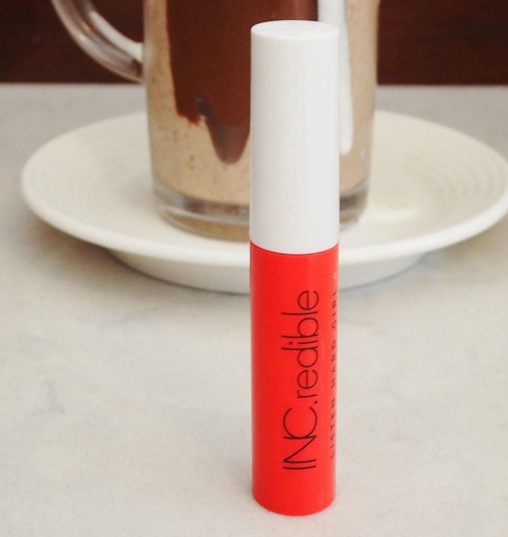 INC.redible Listen Hard Girl Lip Paint review I'm Hot RN | Lipstick Day | HQhair Blog