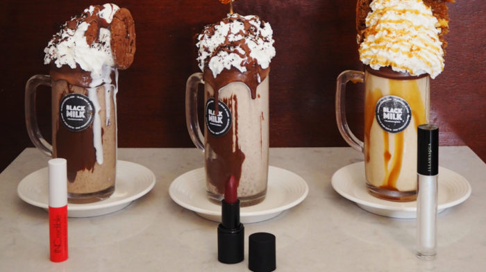 BEAUTY ON TRIAL: LONG LASTING LIPSTICK VS BLACK MILK MANCHESTER FREAKSHAKES