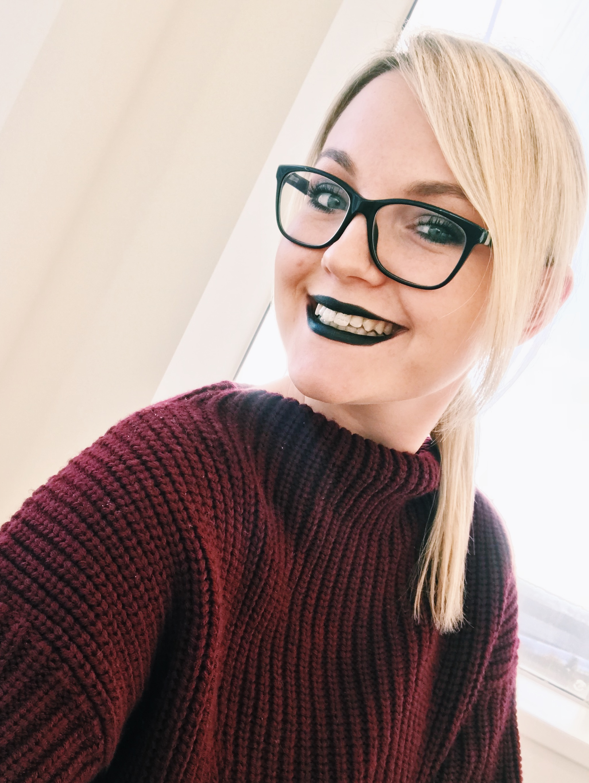 Illamasqua Black Lipstick | HQhair Blog