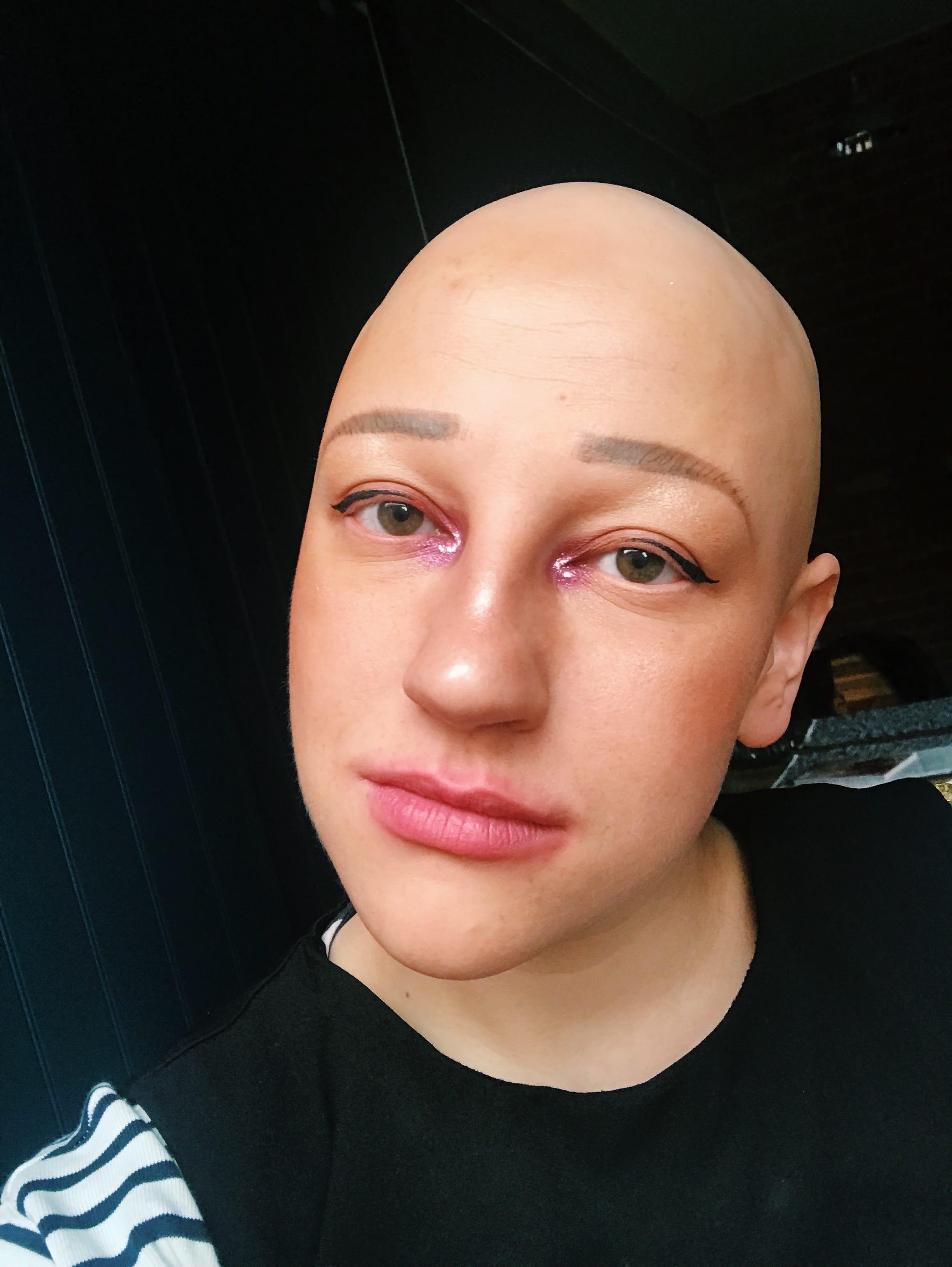 Richard Malone LFW Makeup | HQhair Blog