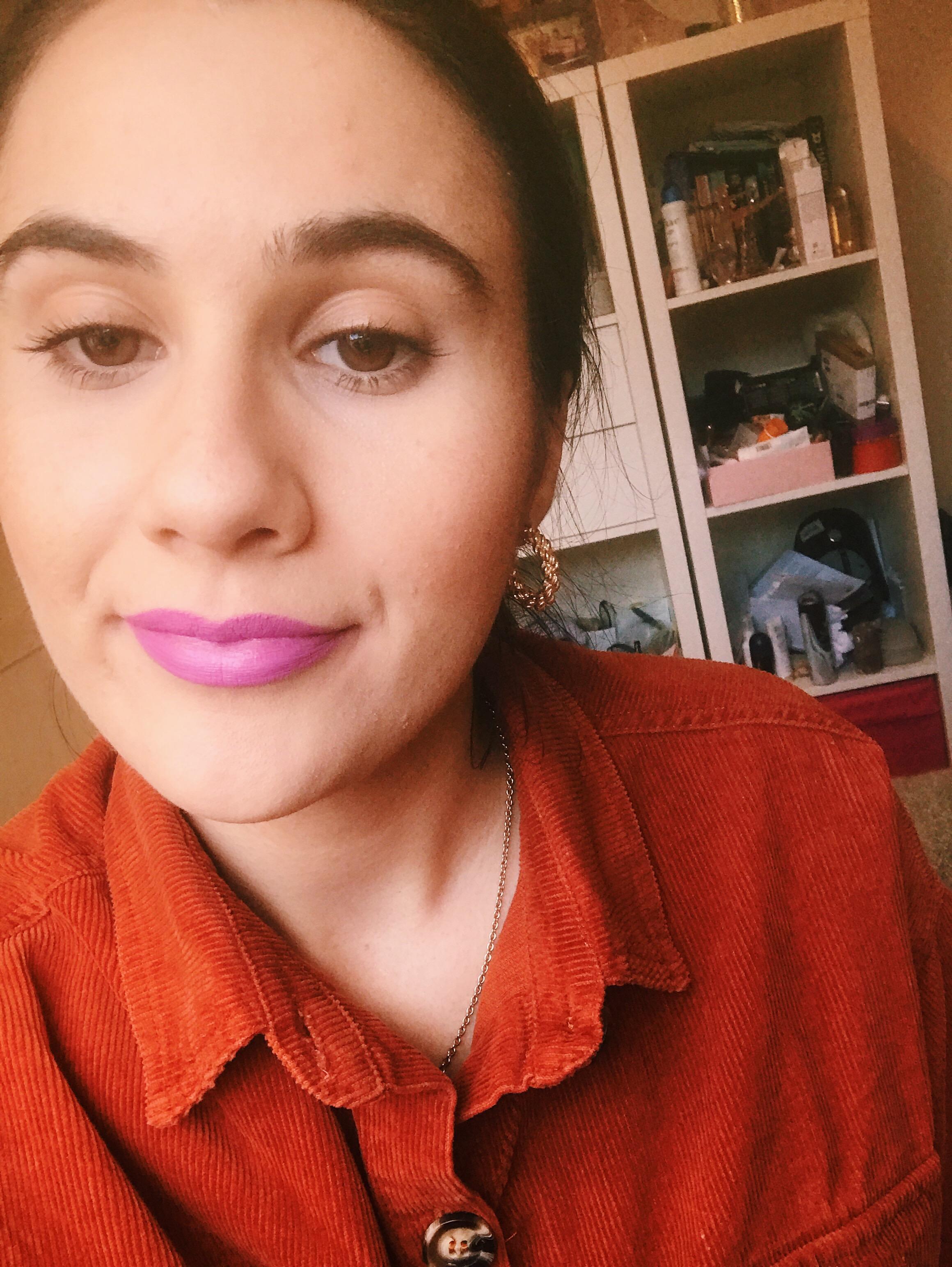Antimatter Lipstick in Celestial Review | HQhair Blog