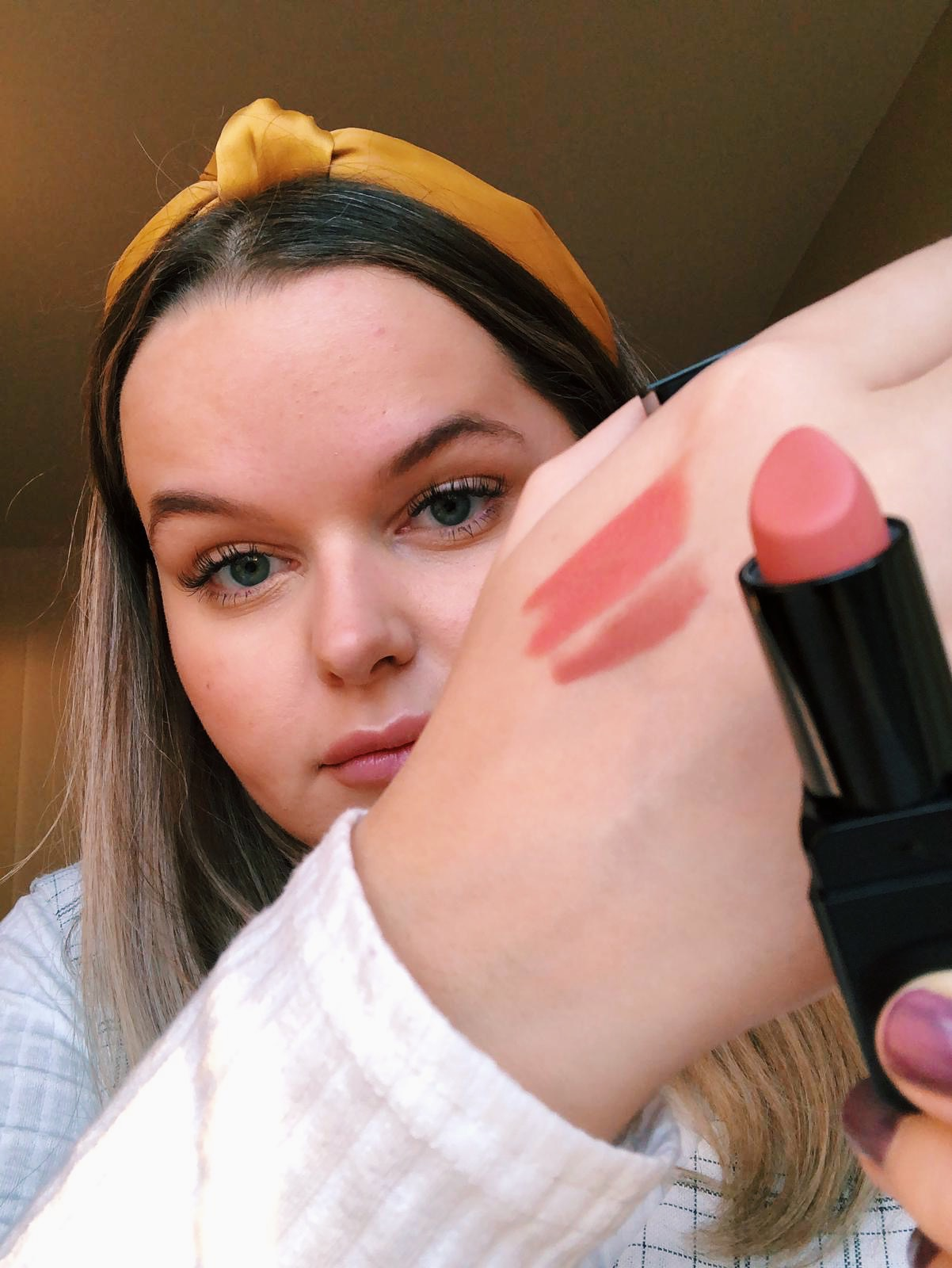 illamasqua antimatter lipstick maya lip liner undressed review | HQhair Blog