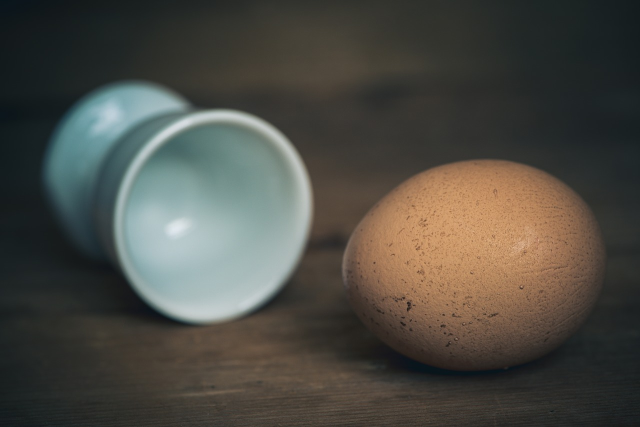 egg in cup
