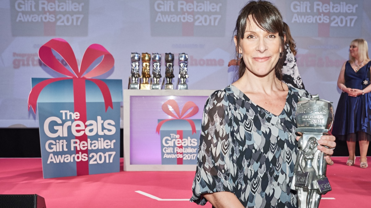 The Greats Gift Retailer Awards 2017 IWOOT awarded