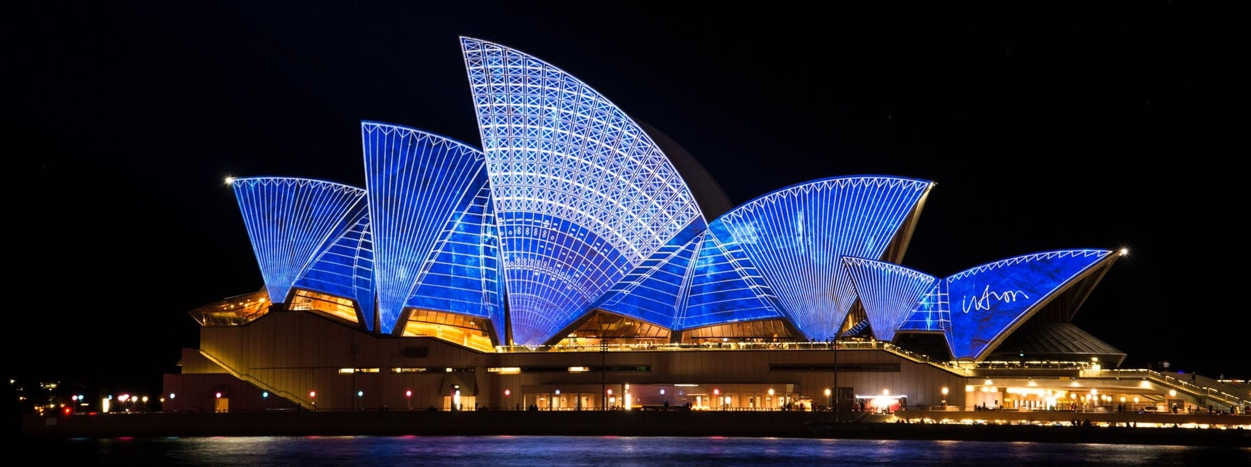 Sydney Opera House image for building LEGO architecture kits