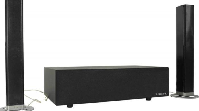 Feature: AV: Link AV-SB100 Bluetooth Soundbar and Wireless Subwoofer
