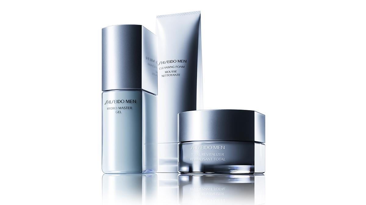 Shiseido for mænd: hudplejerutine