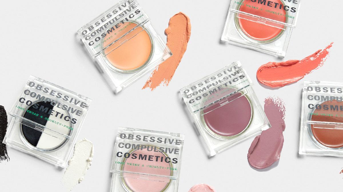 Farvet makeup fra OCC