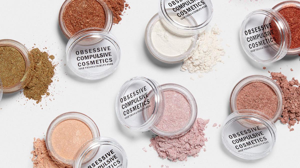 Glimmer og øjenskygge fra Obsessive Compulsive Cosmetics