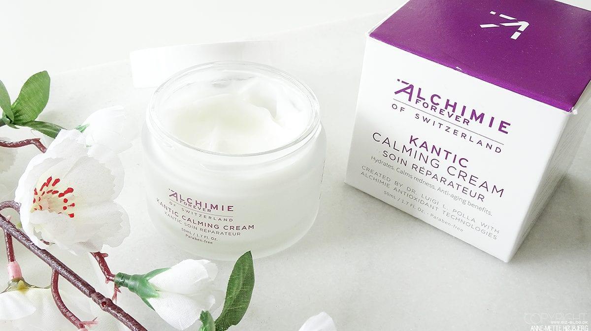Anmeldelse: Alchimie Forever – Kantic Calming Cream