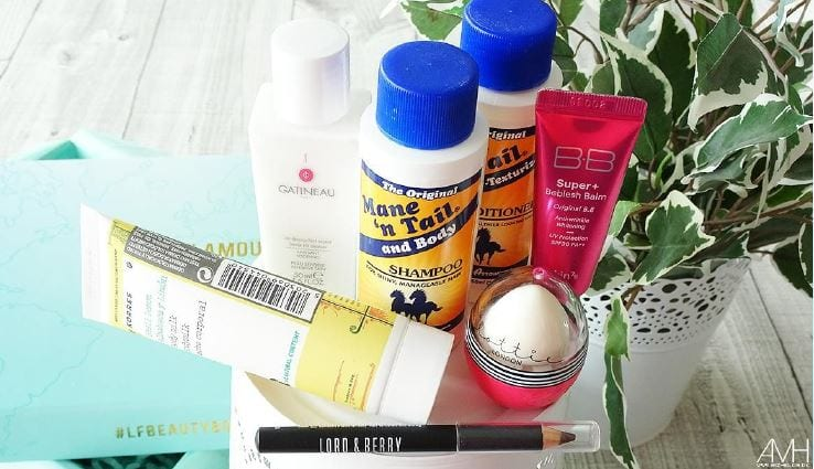 Beauty Box august lookfantastic
