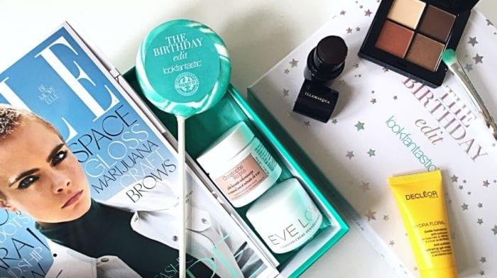 Fejr lookfantastics fødselsdag med The Birthday Edit Beauty Box