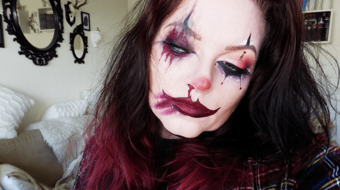Halloween Makeup Tutorial: Klovn