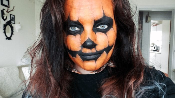 Halloween Makeup Tutorial: Græskar