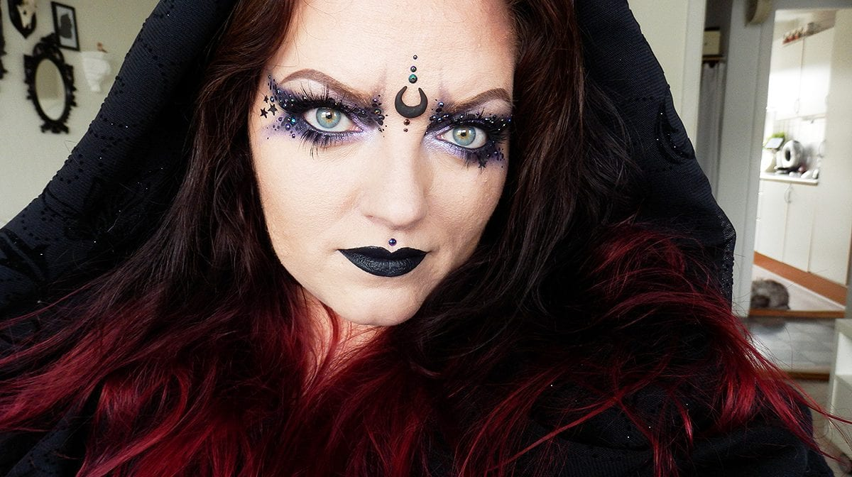 Halloween Makeup Tutorial: Mysteriøs Heks