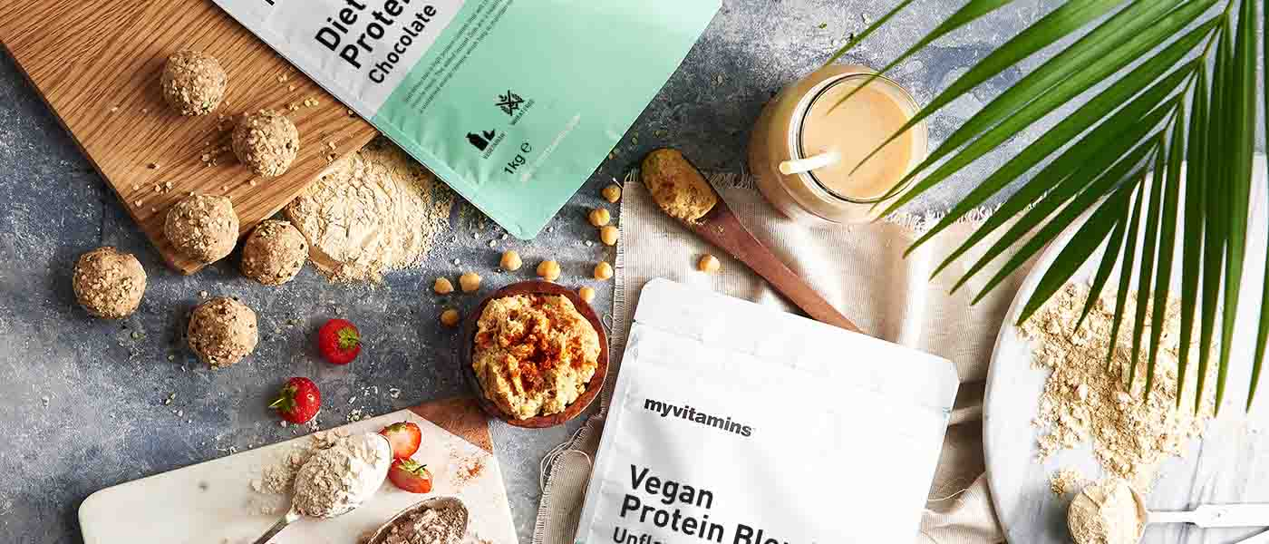 Introducing Our Vegan Protein Range