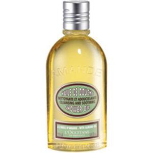 almond foaming shower oil