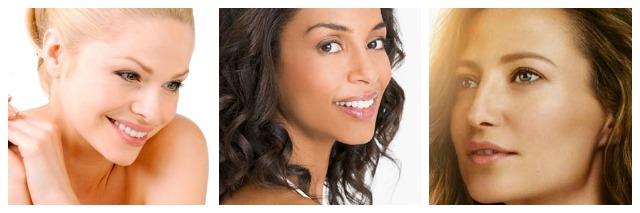 Image of skin care models